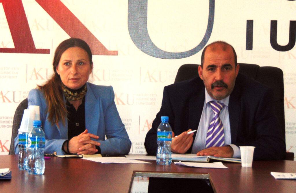 ismailiZnj. Ermira Rusi Zv. Ministre e Bujqësisë dhe Zhvillimit Rural dhe Z. Agim Ismaili Drejtor i Përgjithshëm i AKU-së
